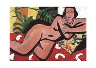 Nude With Palms, 1936 Fine-Art Print