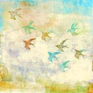 Oiseaux 1 Fine-Art Print