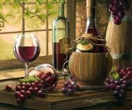 Wine By The Window I Fine-Art Print