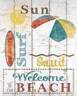 Sun, Surf & Sand Fine-Art Print