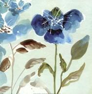 Blue Garden I Fine-Art Print