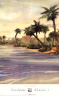 Caribbean Shores I Fine-Art Print