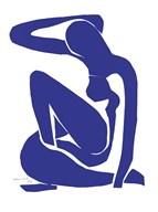 Blue Nude I Fine-Art Print