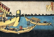 A Summer Sight on the River Sumida Fine-Art Print
