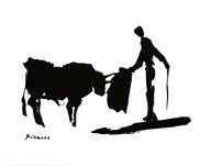 The Bull Fight Fine-Art Print