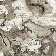 La Mappa II Fine-Art Print