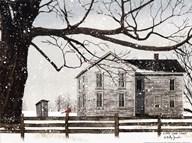 A Little Snow House Fine-Art Print