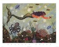 Purple Mermaid Fine-Art Print