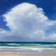 Beach Clouds II Fine-Art Print