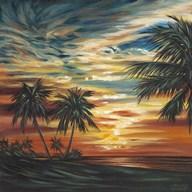 Stunning Tropical Sunset I Fine-Art Print