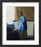 Woman Reading a Letter Fine-Art Print
