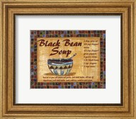 Black Bean Soup Fine-Art Print