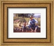 Fishin' with Grandpa Fine-Art Print