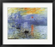 Impression, Sunrise, c.1872 Fine-Art Print