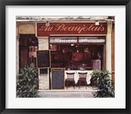 Restaurant Au Beaujolais Fine-Art Print
