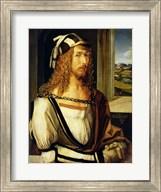 Self Portrait with Gloves, 1498 Fine-Art Print