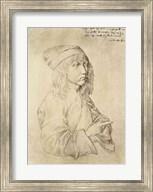 Self portrait at the age of thirteen, 1484 Fine-Art Print