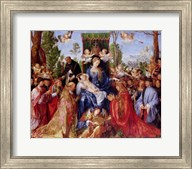 The Festival of the Rosary, 1506 Fine-Art Print