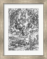 Scene from the Apocalypse, St. John before God the Father and the Twenty-Four Elders Fine-Art Print