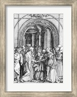 The marriage of the Virgin, from the 'Life of the Virgin' Fine-Art Print