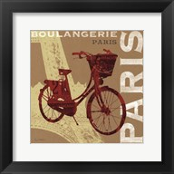 Cycling in Paris Fine-Art Print