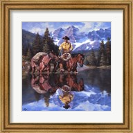 Reflections of the Rockies Fine-Art Print