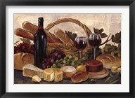 Tuscan Evening Wine Crop Fine-Art Print