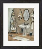 French Bath I Fine-Art Print