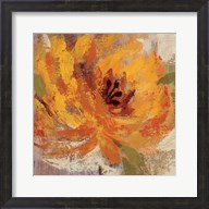 Fiery Dahlias I Crop Fine-Art Print