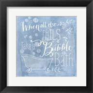 Take a Bubble Bath Fine-Art Print