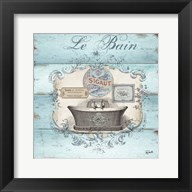 Rustic French Bath II Fine-Art Print