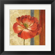 Poppy Tapestry Stripes II Fine-Art Print