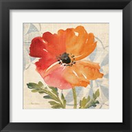 Watercolor Poppies V Fine-Art Print