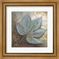 Turquoise Leaf II Fine-Art Print