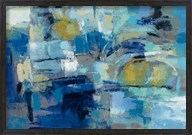 Ultramarine Waves III Fine-Art Print