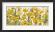 Floating Yellow Flowers I Fine-Art Print