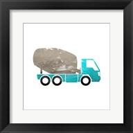 Truck With Paint Texture - Part IV Fine-Art Print