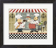 French Cafe Chefs Fine-Art Print