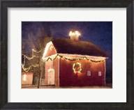 Christmas Barn Fine-Art Print