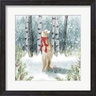 Snow Polar Bear Fine-Art Print