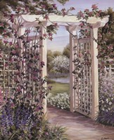 Garden Escape I Framed Print