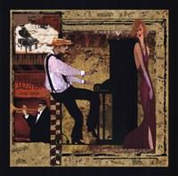 Jazz Piano Framed Print