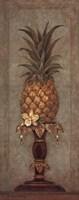 Pineapple and Pearls II Framed Print