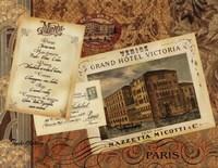Grand Hotel Paris Framed Print