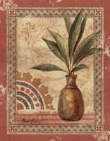 Fresco Palm I Framed Print