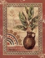 Fresco Palm II Framed Print