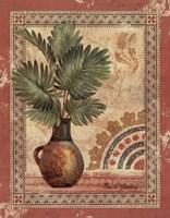 Fresco Palm III Framed Print