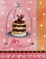 Pink Mousse Framed Print