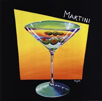 Martini Framed Print