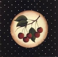 5 Cherries Framed Print